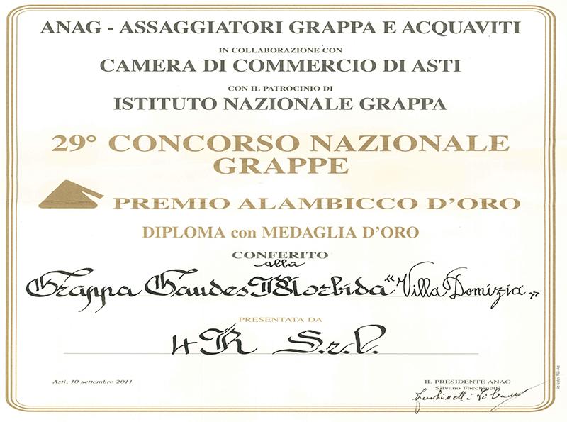 29° Concorso Nazionale Alambicco d'Oro