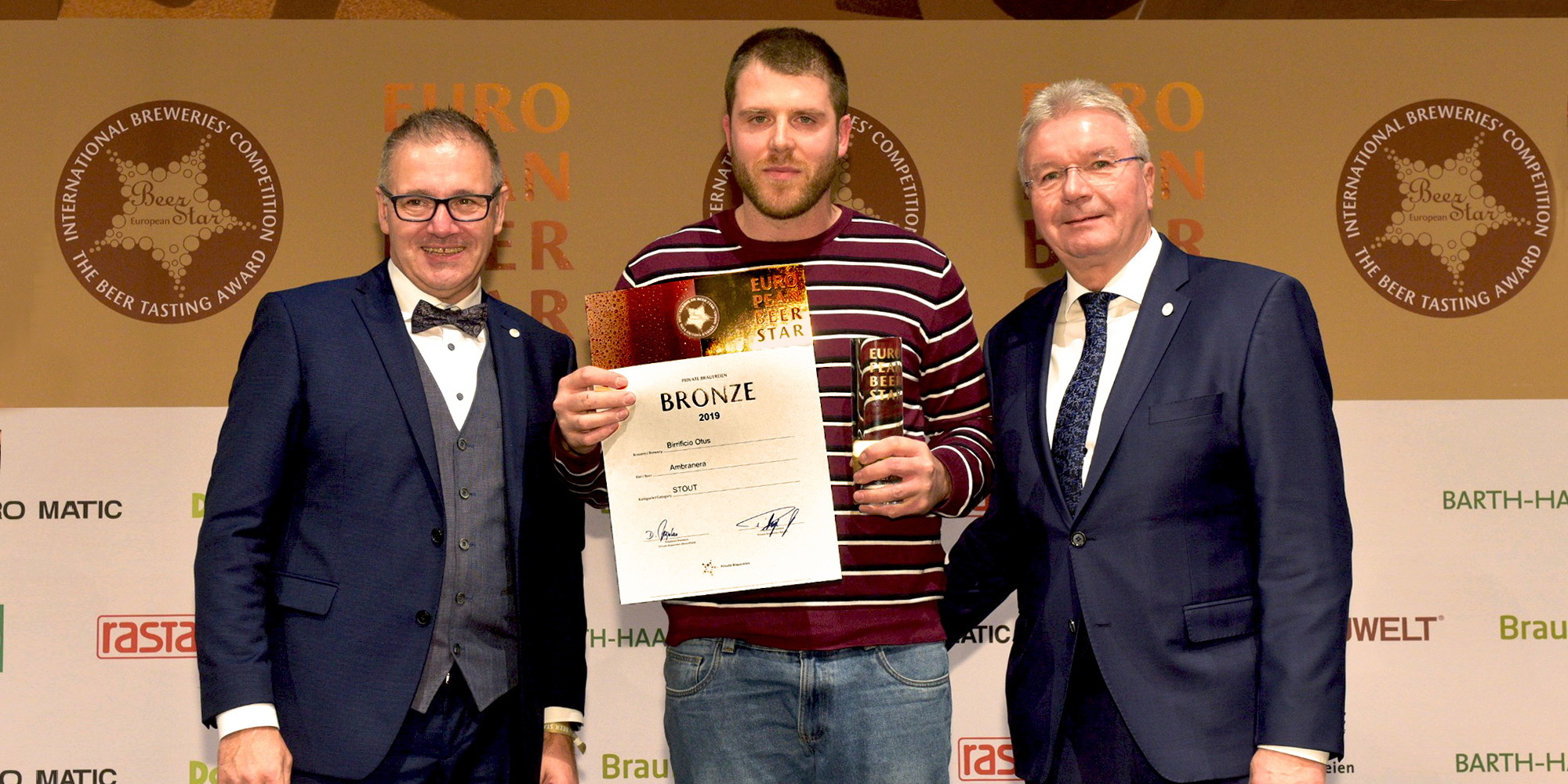 AMBRANERA BY OTUS WON THE BRONZE MEDAL AT EUROPEAN BEER STAR 2019